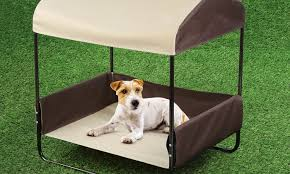 Pet Canopy Bed Portable Pet Bed With Canopy Groupon Goods