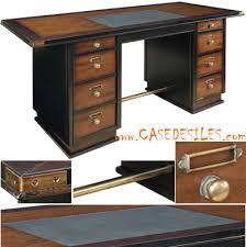 bureau style colonial bureau noir bois bureau architecte eyebuy