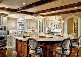 u shaped kitchen island u shaped kitchen island home design ideas and pictures