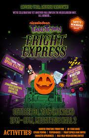 nickalive nickelodeon asia invites you onto the takotown fright