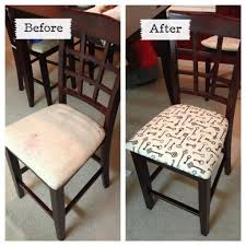 reupholstering dining room chairs diy reupholstering a dining room