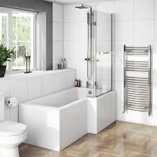 boston shower bath 1700 x 850 rh inc 8mm hinged screen with towel