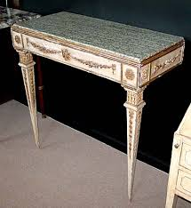 Italian Console Table Directoire Period Console Table