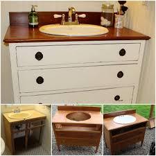 Vanity Diy Ideas 20 Fabulous Diy Ideas And Tutorials To Transform An Old Dresser