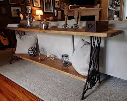 Narrow Accent Table by Best 25 Long Sofa Table Ideas On Pinterest Diy Sofa Table Very