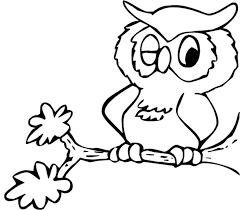 kids owl coloring pages for free cartoon coloring pages of
