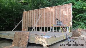 How To Build A Shed Ramp Concrete by Shed Floor Material Ask The Builderask The Builder