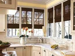 ideas for kitchen window treatments kitchen window treatment fitbooster me
