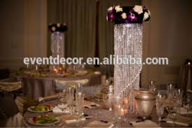chandelier centerpieces chandelier table centerpieces for weddings view table top