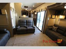 forest river sandpiper 389rd fifth wheel a new rear entertainment