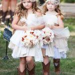 flower girl wedding flower for wedding 25 fall flower girl ideas on