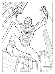 fancy spiderman coloring pages 93 free coloring book