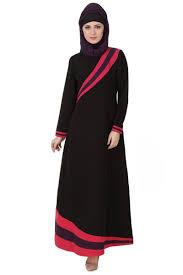 https www stylish muslim wear customizable stylish patterned black pink burqa