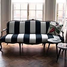black and white striped l shade skyline furniture canopy stripe black white storage bench free