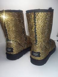 ugg s boot custom ugg boots black uggs swarovski uggs