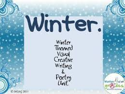 theme line winter winter poetry writing unit writing prompts poetry activities