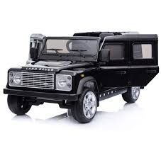 vintage land rover defender licensed land rover defender 12v child u0027s battery electric ride on
