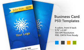 Business Card Layout Psd Free Business Card Templates For Photoshop Designmodo