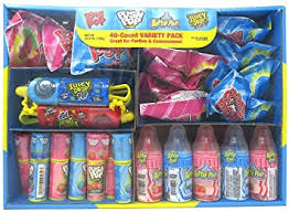Ring Pop Boxes Amazon Com Bazooka Hard Candy Ring Pop Push Pop Bottle Pop