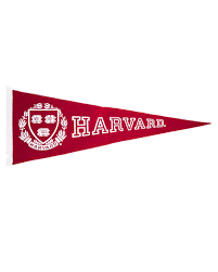 Banners Flags Pennants Large Harvard Pennant U2013 The Harvard Shop
