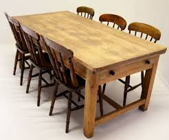 Antique Kitchen Table With Drawer Video And Photos - Kitchen table with drawer