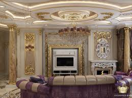 Classic Livingroom by Luxury Classic And Eclectic Living Room Designed By Antonovich
