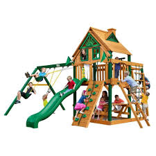 backyards awesome gorilla playset nantucket childrens outdoor
