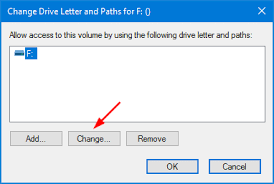 2 ways to change drive letter in windows 10 password recovery