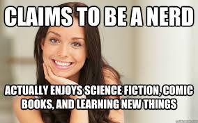 Funny Nerd Memes - nerd girl meme comic girl best of the funny meme