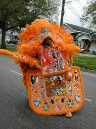 orange mardi gras mardi gras indian influence on the of new orleans