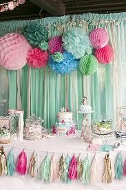 1st birthday party kara s party ideas littlest mermaid 1st birthday party kara s