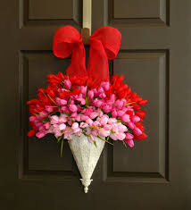 valentines day wreaths craftionary