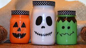 Mason Jar Halloween Ghosts Doll Parts And Bats 7 Halloween Mason Jar Diys To Try