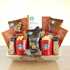 gift baskets 20 starbucks gift basket baskets christmas target 20