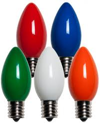 Halloween Light Bulbs by C9 Christmas Light Bulb C9 Multicolor Christmas Light Bulbs Opaque