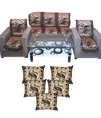 Sofa Covers Online In Bangalore 63 Off On Fk Golden Maroon Floral Velvet Sofa Covers Table Cover