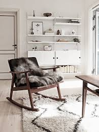 string furniture in a danish living room from scandinavian