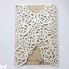 gatefold wedding invitations lace wedding invitations free shipping