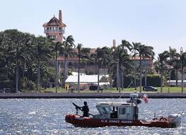 inside mara lago there s the president sitting two tables away inside mar a lago