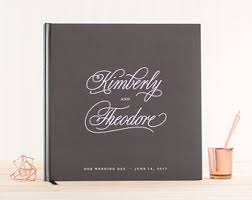 wedding registry book guest book wedding guest book etsy