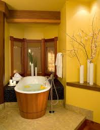 gorgeous bathrooms with the warm allure of yellow trends asian