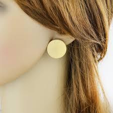 big stud earrings fashion gold color big stud earrings for women buy