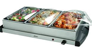oster triple warming tray buffet server only 29 99 shipped
