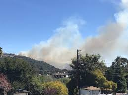Wild Fires Near Merritt by Residents Post Photos Video Of Oakland Hills Fire As Homes Are