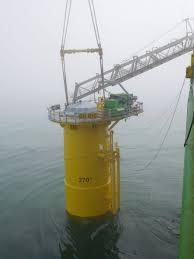 galloper first galloper turbine in place offshore wind