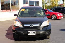 2007 honda crv black ex awd used suv sale