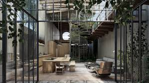 Studio Home Desing Guadalajara by Lázaro Presents Loft Style House In Visuals That