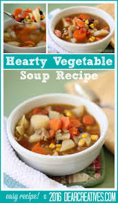 soup recipes hearty vegetable soup you u0027ll love