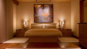 Malibu Bed And Breakfast Rooms At Nobu U0027s Japanese Style Malibu Inn Are Minimalist In Style