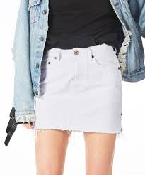 denim skirt 2020 mini high waist denim skirt denim skirts oneteaspoon